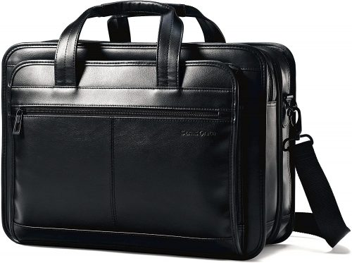 Samsonite Leather Laptop Travel Bag