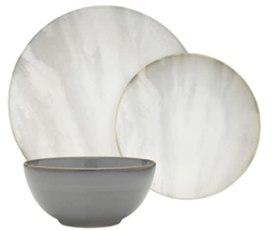 Rivet 18-Piece Stoneware
