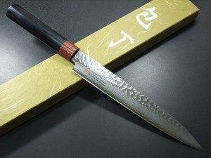 Seto Damascus-Forged Steel Sashimi Knife