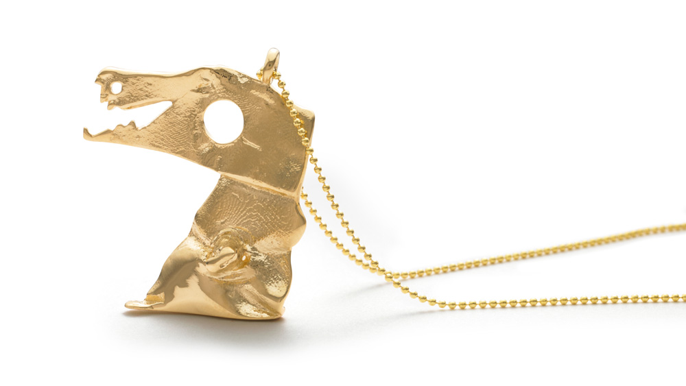 Kid Jeweler Dino Necklace