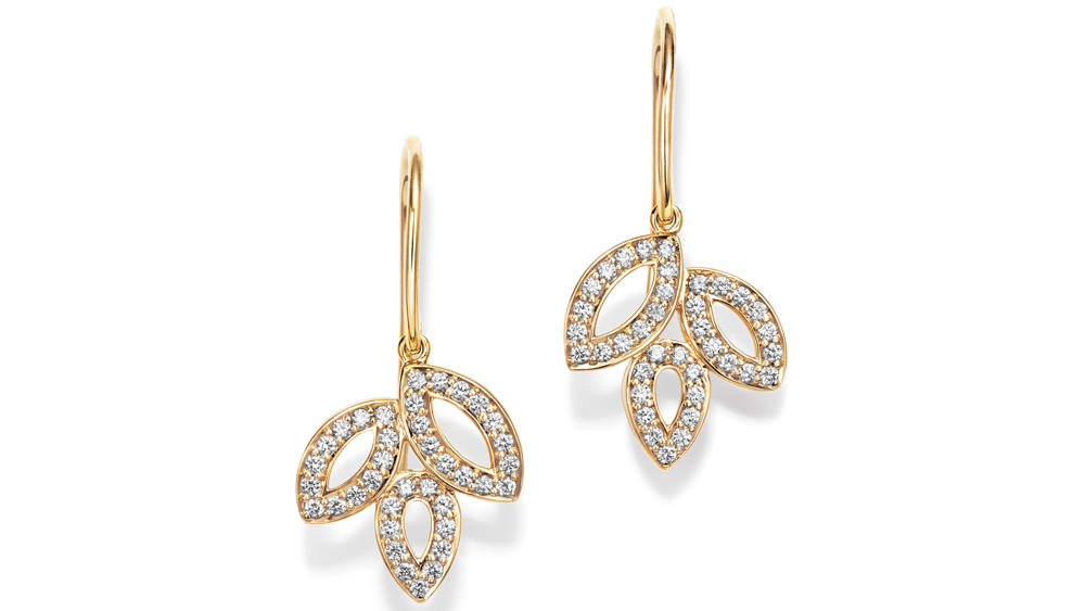 Harry Winston Lily Cluster Diamond Earrings