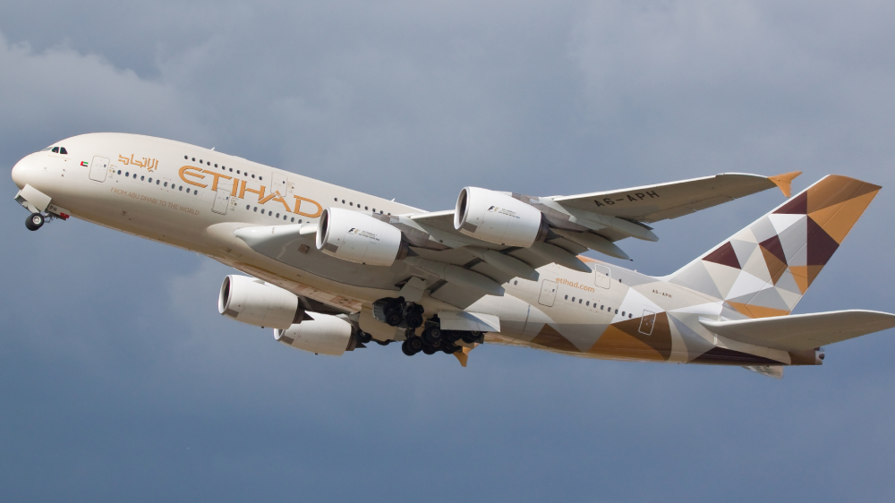 Etihad Airways coronavirus