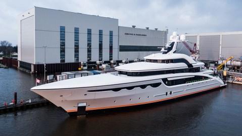 Abeking & Rasmussen's New 223-Foot Megayacht 'Soaring'