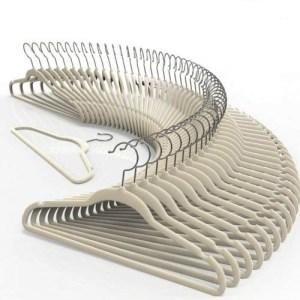 TechZoo-50-Piece-Velvet-Hangers-Set