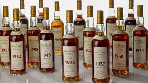 The Macallan Fine and Rare Collection from Wing Hop Fung