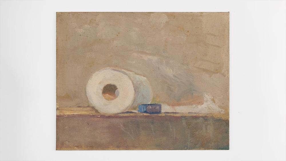 Thomas Kinkade's 'Untitled (Toilet Paper)'