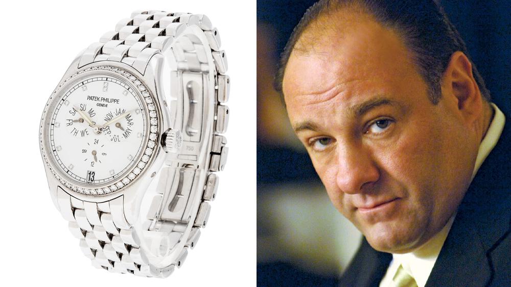 Tony Soprano and a Patek Philippe Ref. 5037/1G