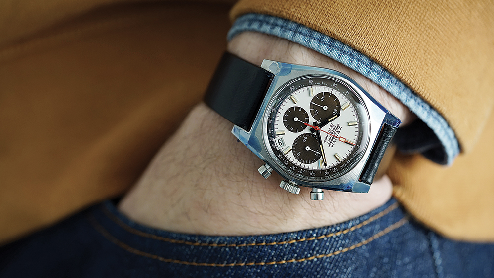 A Zenith Ref. A384 1969 El Primero sold at Phillips for approximately $40,000