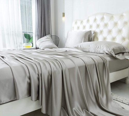 ZIMASILK Silk Bed Sheets
