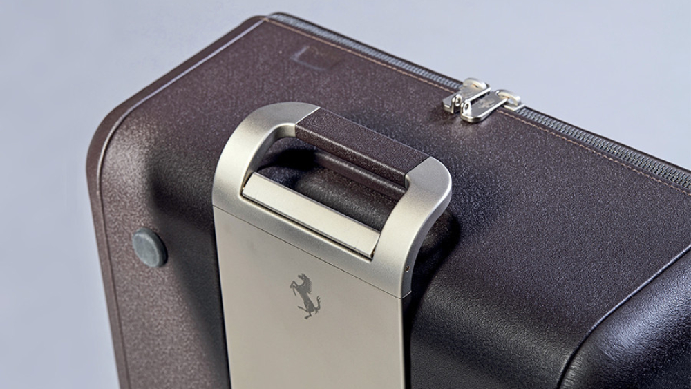 Ferrari Marc Newson luggage