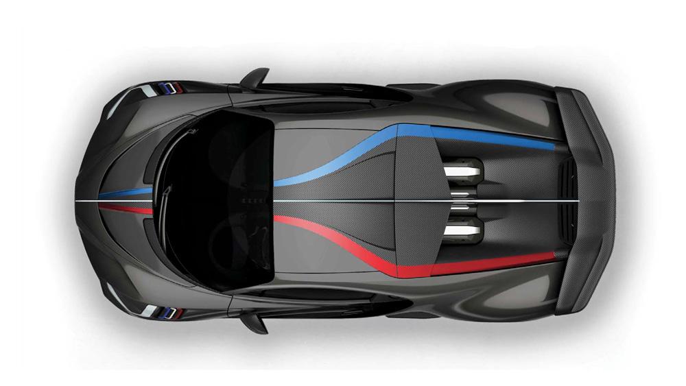 A rendering of a customized Bugatti Divo.