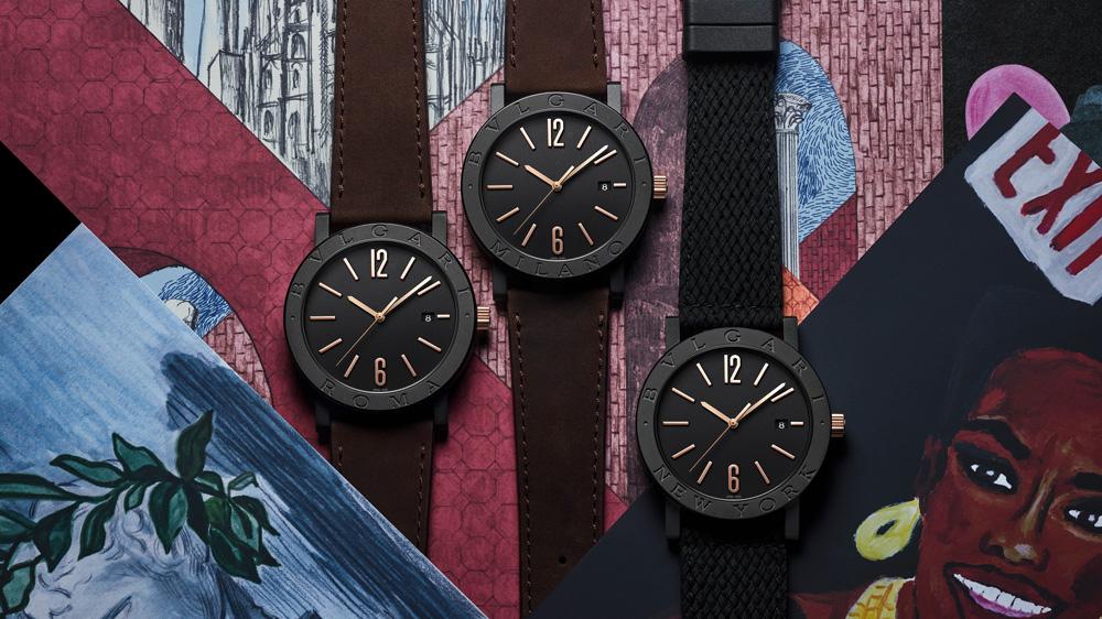 Bulgari Cities Edition Watches