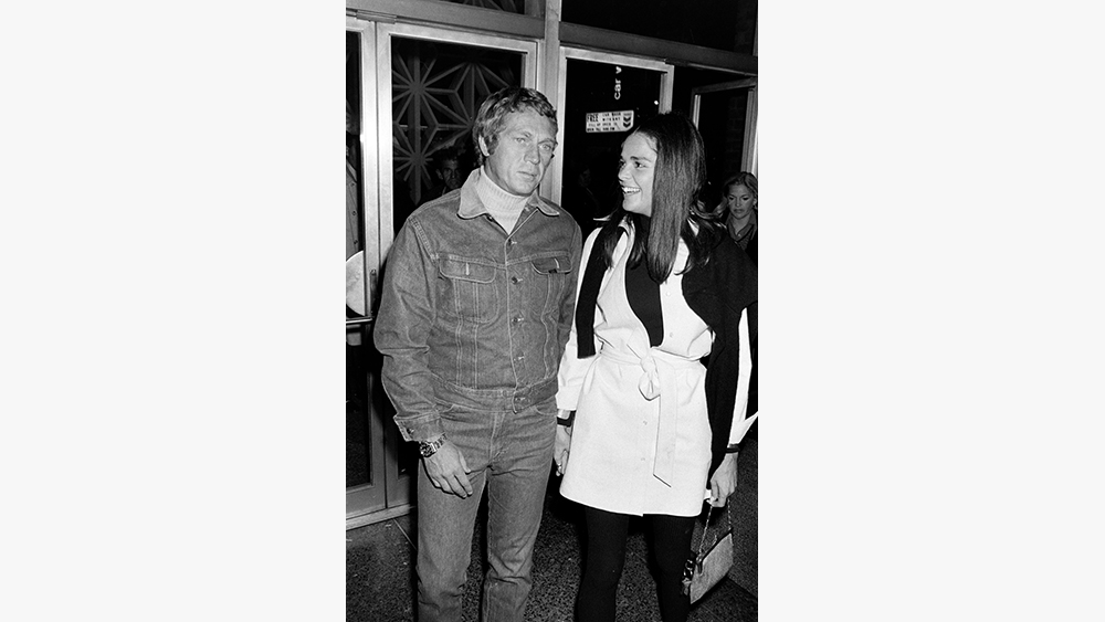 Actor Steve McQueen and actress Ali MacGrawThe Getaway Movie Screening at the Directors Guild of America, Los Angeles - 8 Dec 1972