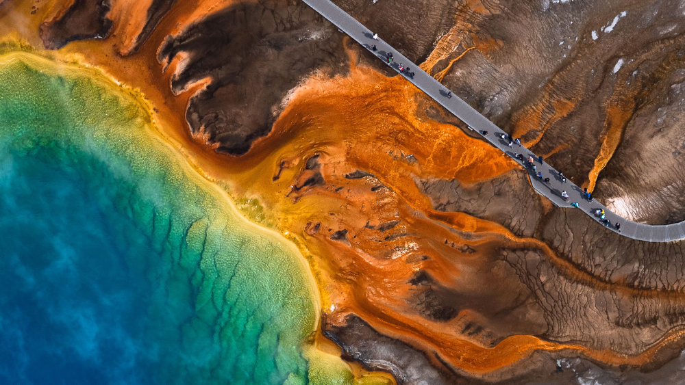 yellowstone national park airstream