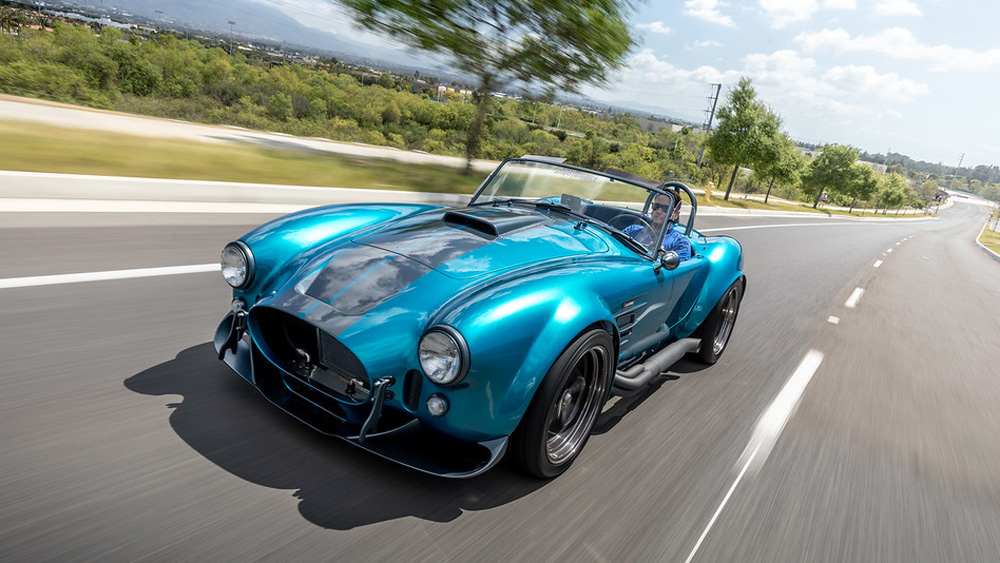 The Superformance MKIII-R Cobra.