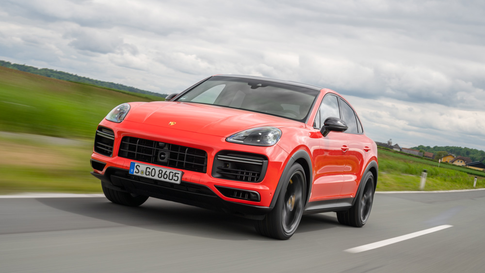 The 2020 Porsche Cayenne Turbo Coupe Is A Recipe For The Perfect Suv Robb Report