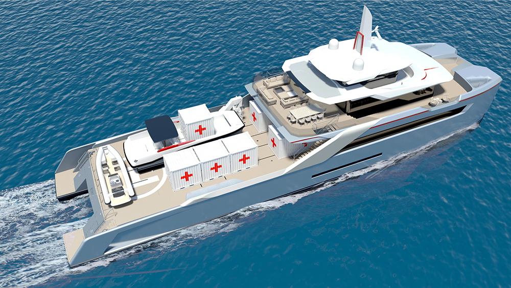 Project Echo Humanitarian Support Vessel