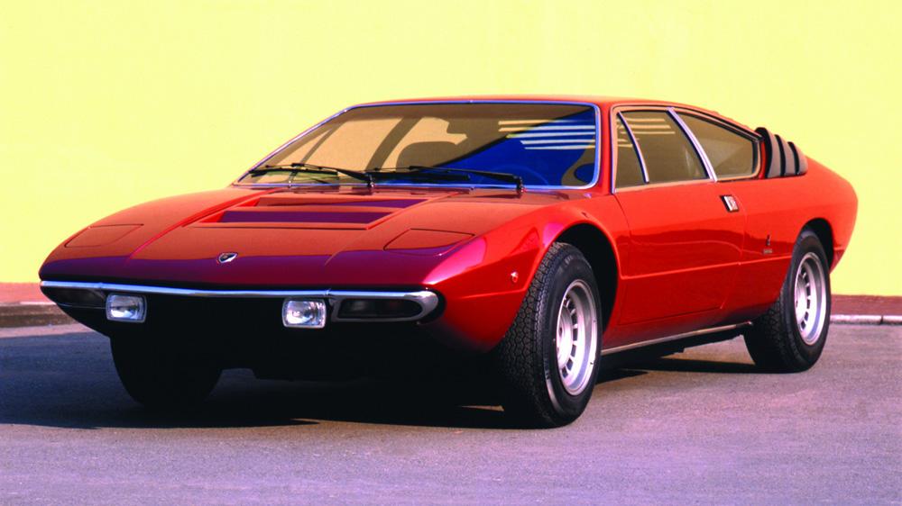 The Lamborghini Urraco.