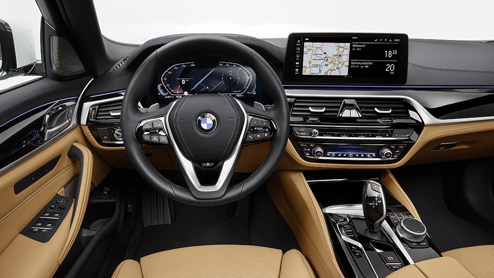 2021 BMW 5 Series sedan