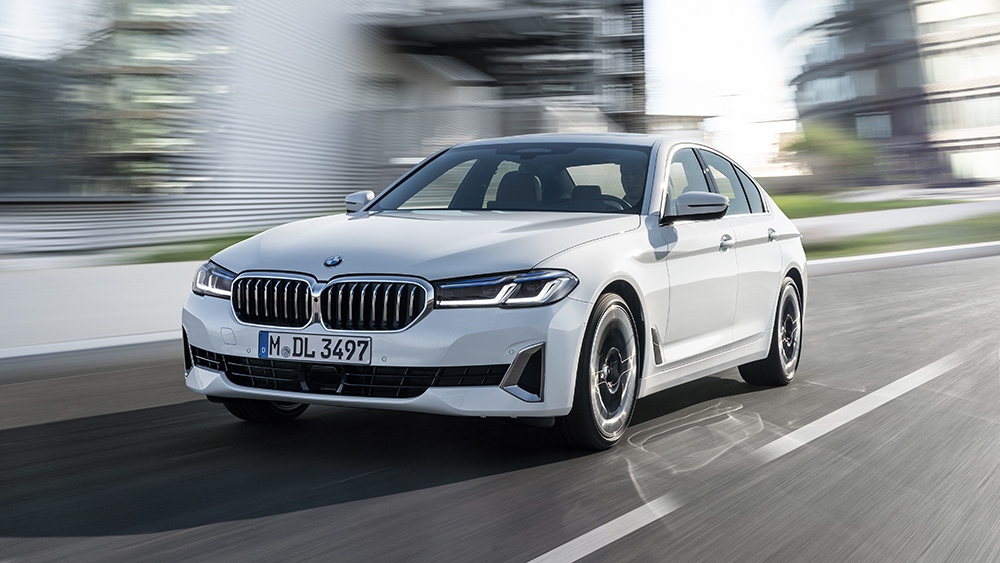 The 2021 BMW 540i