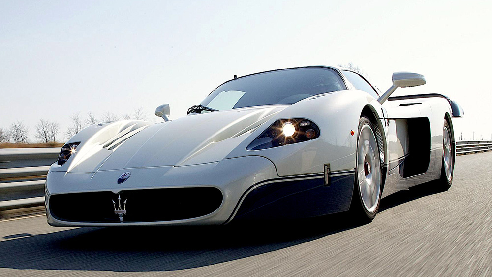 Maserati's MC12, a model that won 22 races and 14 titles from 2004 through 2010.