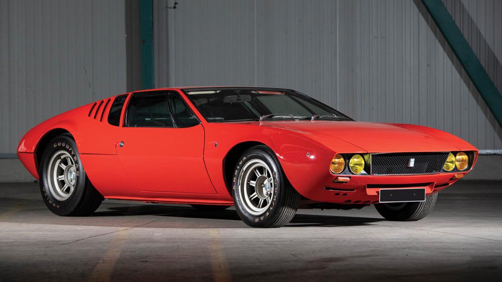 A 1971 De Tomaso Mangusta.