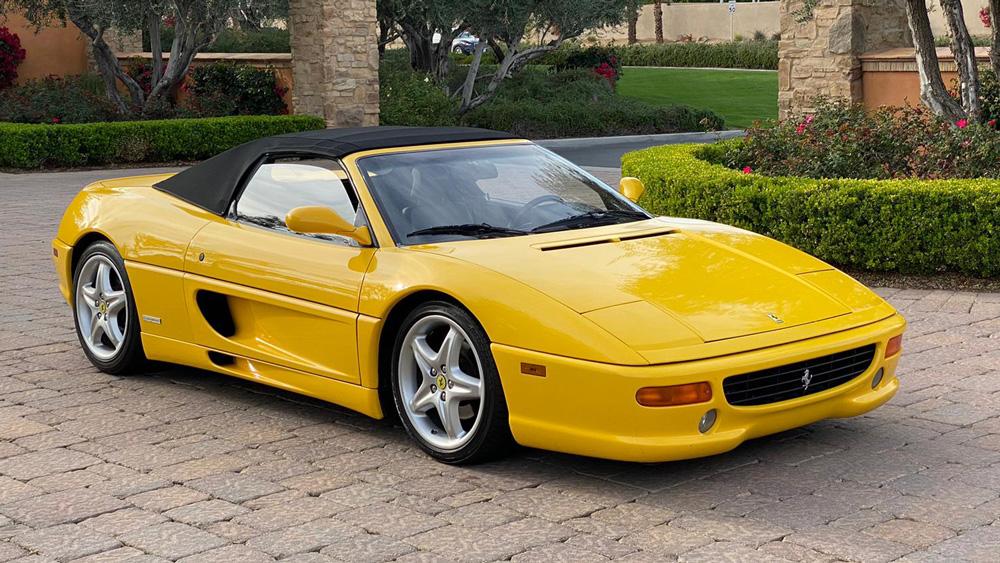 A 1995 Ferrari F355 Spider.