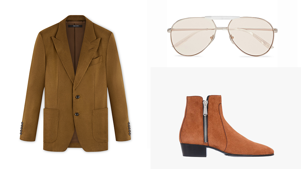'70s style for today from Tom Ford, Balmain and Gucci