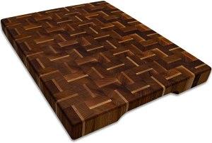 Eco Home Wood Butcher Block Cutting Board
