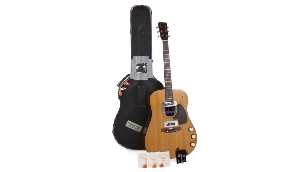 Kurt Cobain MTV guitar auction