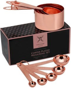 Steelware Central copper cooking cups