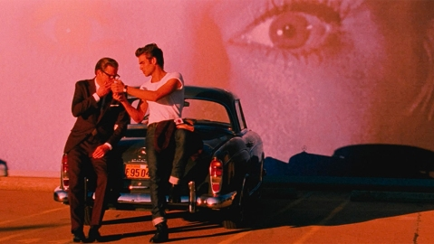 Colin Firth and Jon Kortajarena in A Single Man