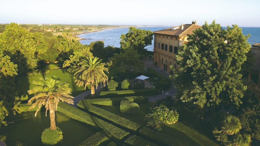 La Posta Vecchia J.Paul Getty Italy villa Rome
