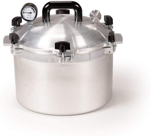 All American 15.5-Quart Stove Top Pressure Cooker