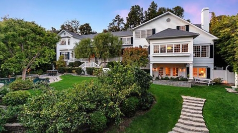 Ashton Kutcher and Mila Kunis Beverly Hills Home