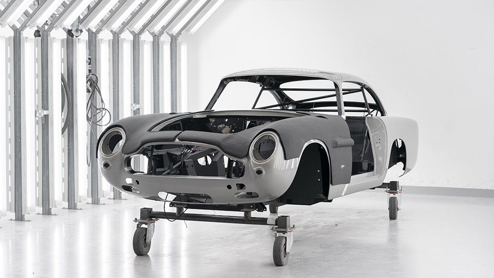 Aston Martin Makes New Db5 Goldfinger Cars With Espionage Like Specs Robb Report