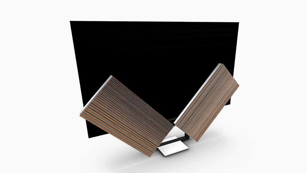 Bang & Olufsen's 88-inch Beovision Harmony 8K OLED TV