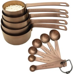 Bestton Copper Measuring Cups