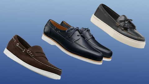 Boat shoes by Church's, John Lobb and G.H. Bass
