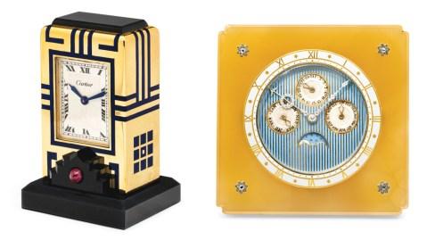 Cartier Clocks