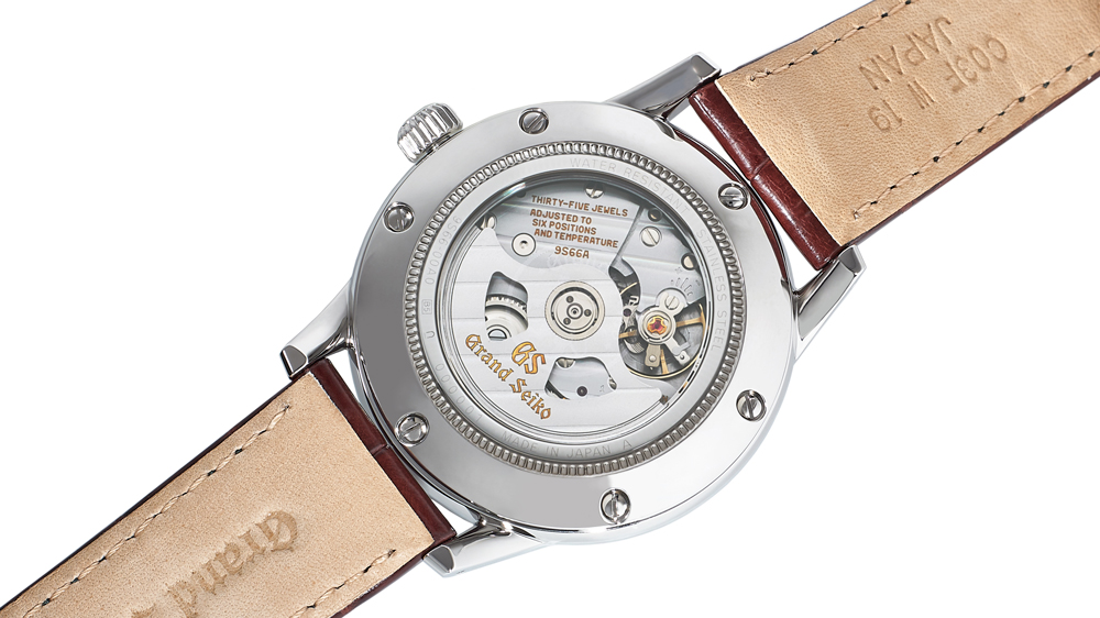 Grand Seiko x Watches of Switzerland Toge Special Edition Watch Caseback