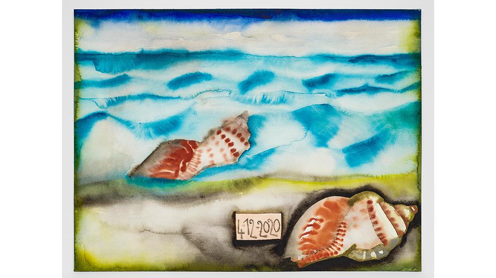 Francesco Clemente's Watercolor