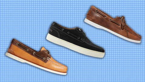 Boat shoes by Sperry, John Lobb and Scarosso.