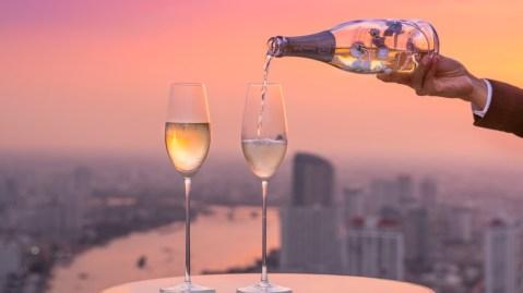 lebua Bangkok Champagne bar rooftop