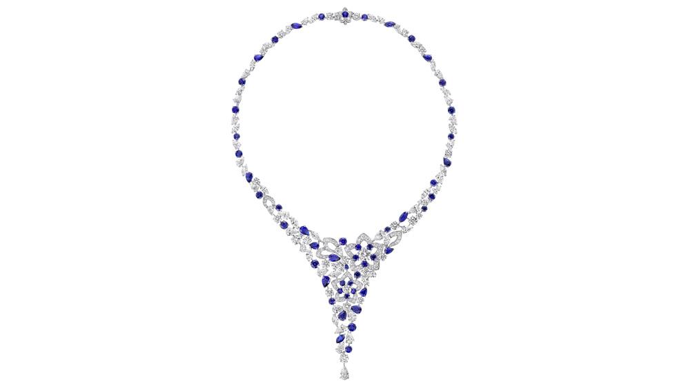 Christie's Graff Diamond and Sapphire Necklace
