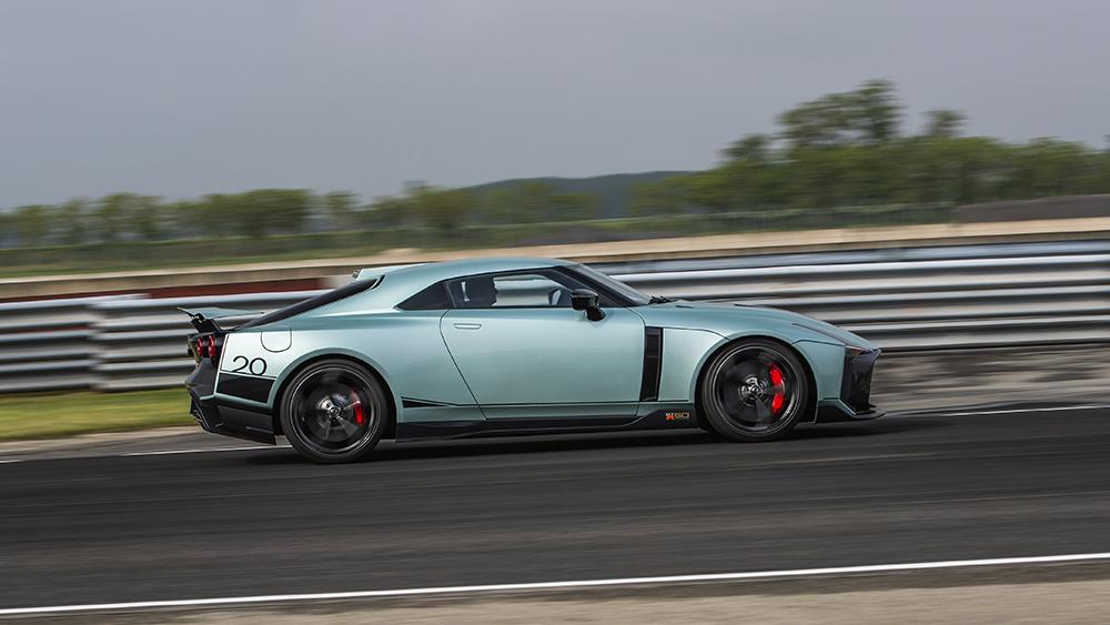 Nissan x Italdesign GT-R50