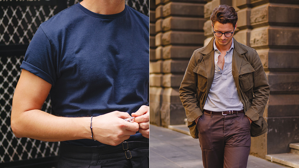 Informale, a Melbourne, Australia-based menswear brand, brings tailoring rigor to casual clothes.
