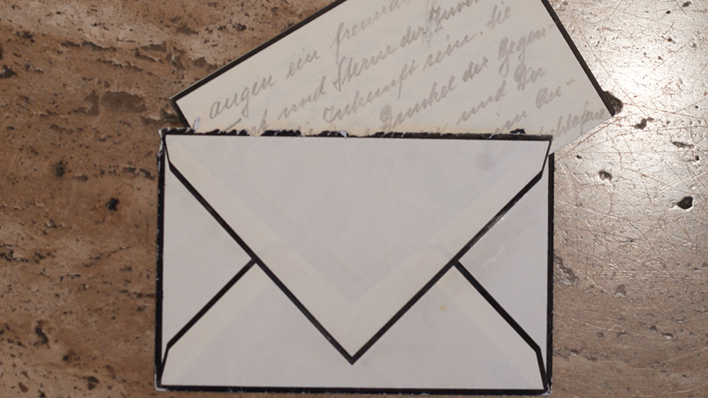A letter from Wirth's grandfather