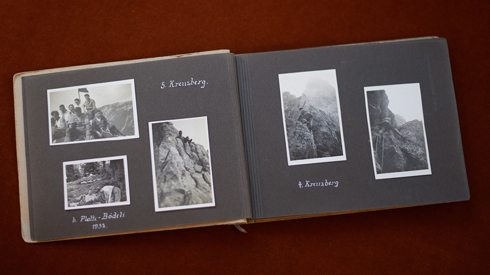 Photographs from Wirth's grandfather