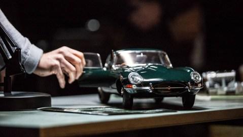 Jaguar E-Type Model